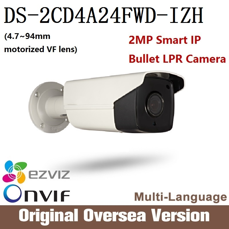 HIKVISION DS-2CD4A24FWD-IZH LPR IP Camera 2MP POE Smart IPC ONVIF 2MP Smart IP Outdoor Bullet Camera Motorized Vari-Focal cd диск fleetwood mac rumours 2 cd