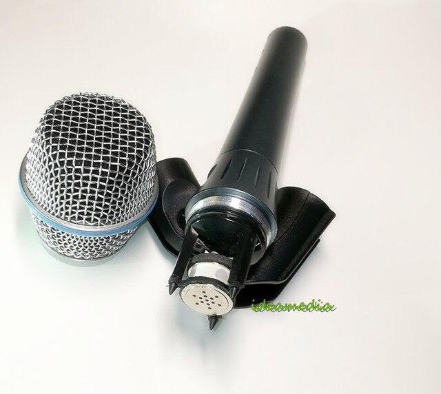 Настоящий конденсатор BETA87A! Высшее качество бета 87A суперкардиоидный конденсаторный вокальный микрофон с потрясающим звуком i!