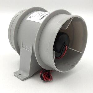 Image 2 - Yüksek hava akımı 4 inç In Line sintine sessiz fan 12 Volt 4inch Dia. Hortum Ventilador silencioso sessizlik deniz pompası