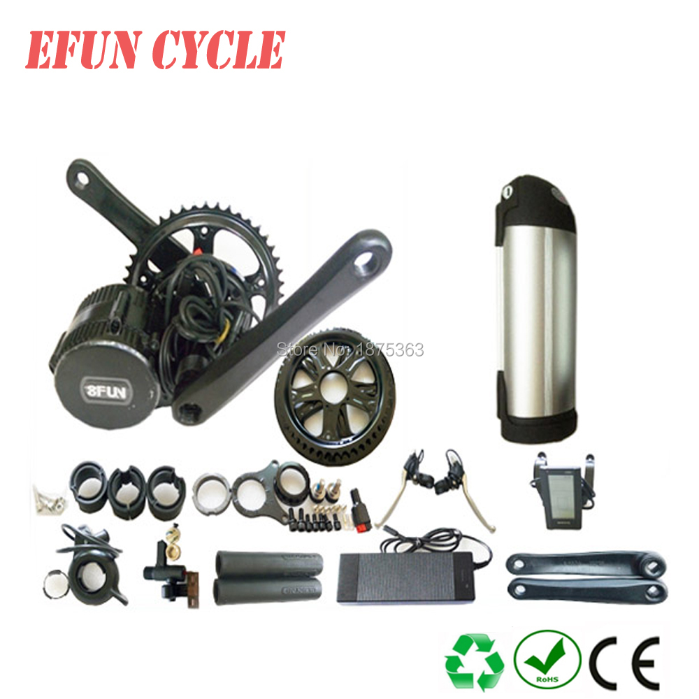 Ebike BBSHD 48V 1000W mid drive motor kits with triangle battery 48V