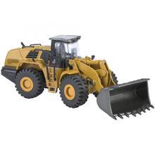 Huina 1714 1:50 сплав модель колесного погрузчика Инженерная строительная машина игрушка