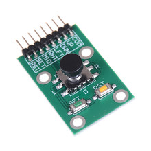 Five Direction Navigation Button Module For Arduino Joystick Module For MCU AVR Game 5D Rocker Joystick Independent Keyboard(China)