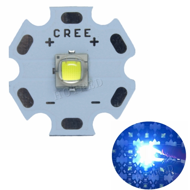 10PCS 100PCS Luminus SST-40 10W LED 1100lm Cool White 7000K instead of CREE XML2 XM-L2 LED Light Emitter Diode for flashlight