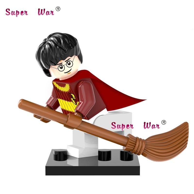 Single Sale star wars marvel avengers Harry Potter Comics building blocks action sets model bricks toys