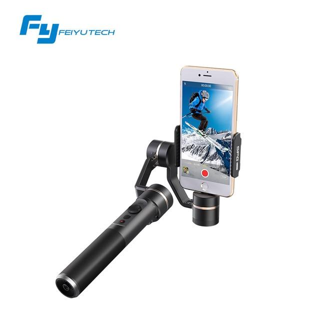 FeiyuTech SPG AO VIVO smartphone cardan estabilizador vertical tiro limiteless panning