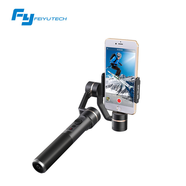 FeiyuTech SPG LIVE stabilizer smartphone gimbal For smartphone iPhone HUAWEI vertical shooting limiteless panning