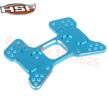 Hobby parts 166023 06037 aluminum rear shock tower hsp 1/10o 4WD R/C Piezas de Actualización Para 1/10 Himoto RC Car 94166 retrolavado