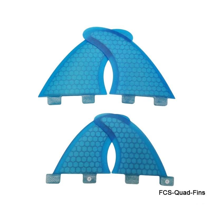 Új design FCS Quad Fins SUP szörfdeszka FCS G3 + GL Fin Honeycomb - Vízi sportok - Fénykép 3