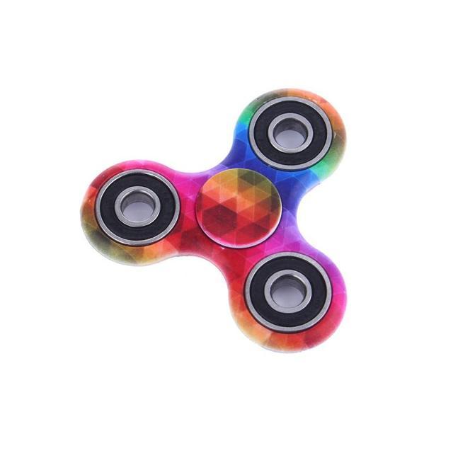 Rainbow Mosaic Fidget Spinner