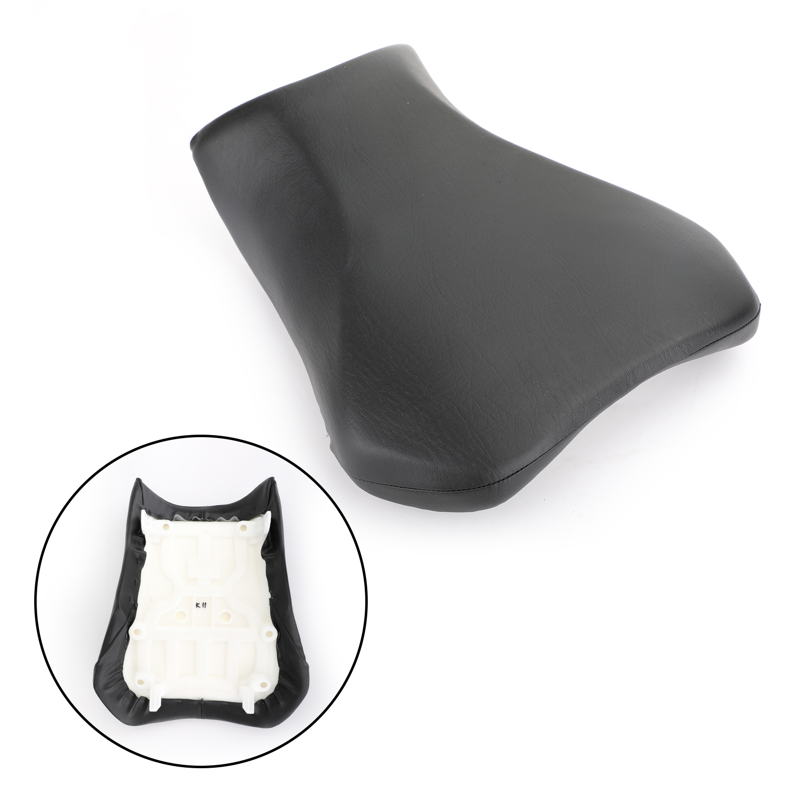 Areyourshop Motorcycle Black Front Driver Seat Rider Cushion Fit For Suzuki 650 700 2011-2019 Motorcycle Accessories