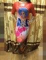 6 colores) 2017new dashiki africana 100% del algodón de impresión elástico del estilo elegante famosa marca raya vestidos largos para la señora delgada