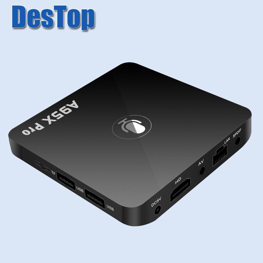 Set-top Boxen Neue A95x Pro Android 7.1 Smart Tv Box Quad Core 2 Gb Ram 16 Gb Rom 2,4g Wifi Androidtv Google Os Sprach Steuerung Smart Media-player Heim-audio & Video