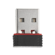 USB Nano беспроводной Wifi адаптер ключ приемник сетевой LAN карты ПК 150 Мбит/с