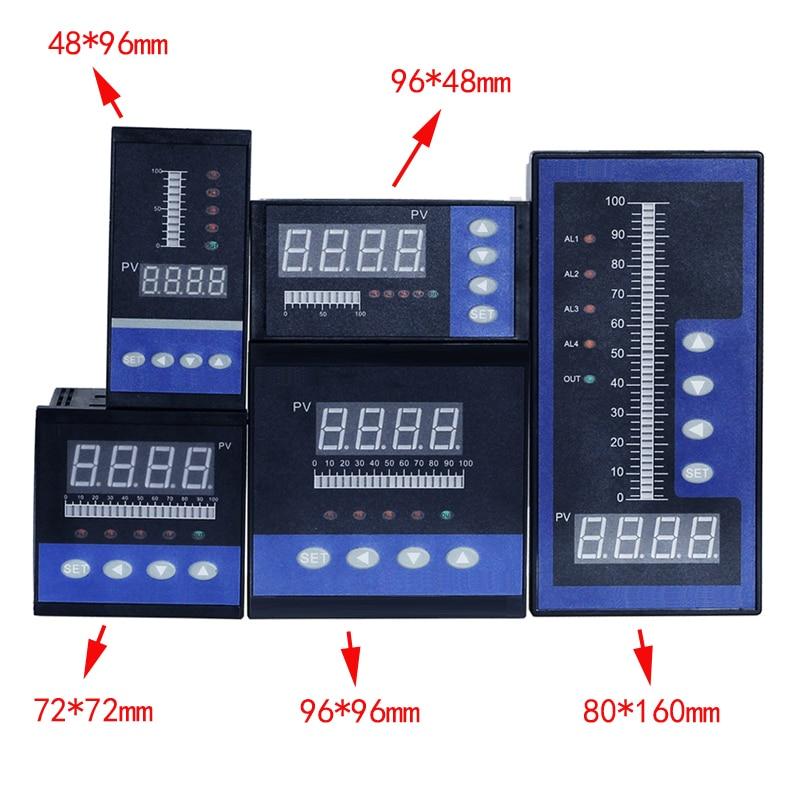 4-20 мА DC вход воды регулятор давления уровня жидкости с 4 способами реле и DC24V выход напряжения воды измеритель уровня жидкости