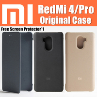 Snapdragon 430 625 Redmi 4 Pro Pime Case Original 100 From Xiaomi For Redmi4 Leather Flip