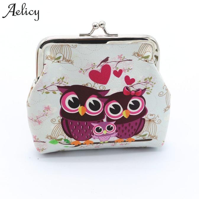 New Women Oxford Cloth Wallet Coin Purse Small Backpack Keys Pouch Zipper Bag LA