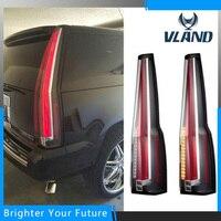 VLAND Tail Lamp For Chevrolet Suburban Tahoe GMC Yukon Tail Lights 2007 2014 Rear Lamp Brake Light