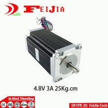1pcs 57HS112-3004 4-lead Nema 23 Stepper Motor 57 motor 57BYG 3A for 3D printer