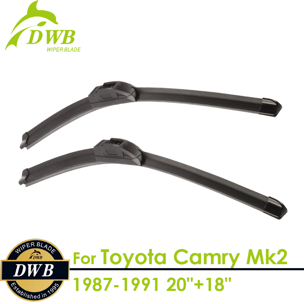 Wiper blades for toyota camry mk2 1987 1991 20 18 2pcs
