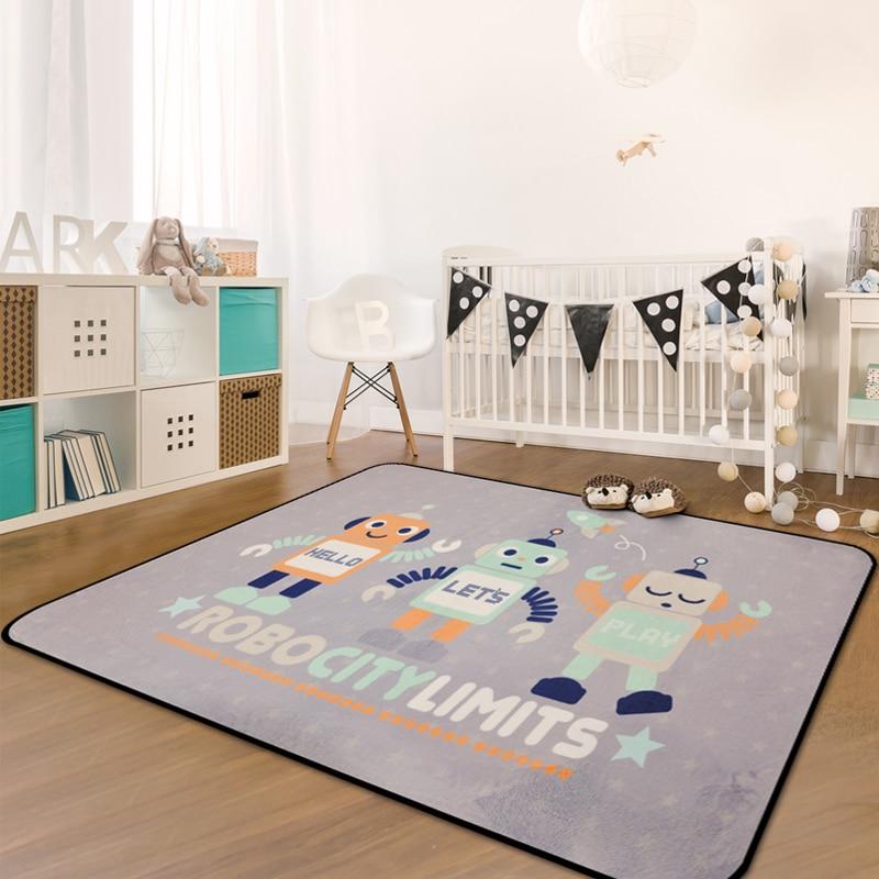 Nordic Cartoon Carpet Kids Room Home Carpet Bedroom Soft Children Tatami Rug Sofa Coffee Table Floor Mat Living Room Area Rugs-in Carpet from Home & Garden    3