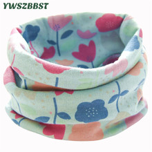 New Autumn Winter Children's Cotton Scarf Baby Bibs Boys Girls Toddler Scarf Ring Collar Infant Burp Cloths Kids Neckerchief недорого