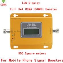 70dB LCD display function 980 CDMA 800mhz high gain CDMA 850Mhz mobile phone signal booster,GSM signal repeater cdma amplifier
