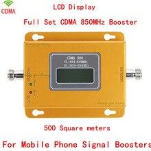 Дб cdma усилитель сигнала Repetidor де celular 850 мГц сигнал повторителя cdma 850 мГц мобильный телефон усилитель сигнала с ЖК-ДИСПЛЕЕМ дисплей