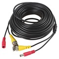 Sales!  20m Video Power Cable CCTV Security Camera Extension Wire DVR BNC RCA Cord
