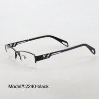Magie Jing 2240 Livraison gratuite nouveau style métal lunettes cadres pour hommes RX optique cadres lunettes de vue