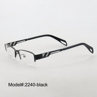 Free Shipping 2013 New Style Metal Prescription Glasses Optical Eyeglasses 2240