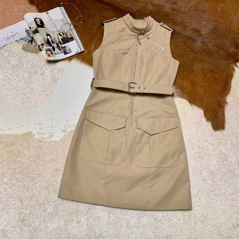 Women Preppy Style A line Party Dress Sleeveless O Neck Elegant 2019 Female Summer Dress New