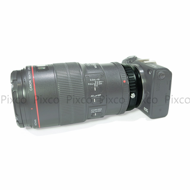 Online Shop Pixco For EF-for EOS M Focal Reducer Speed Booster Turbo ...