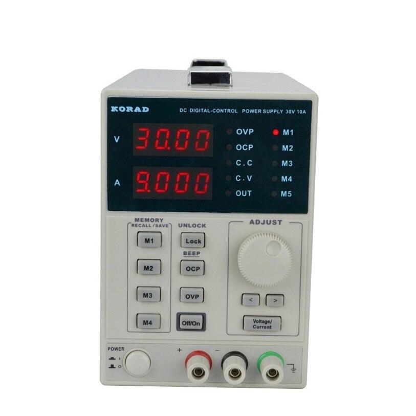KA3010P программируемый источник питания постоянного тока 30 В в 10A Высокоточный Регулируемый цифровой лабораторный источник питания программ...
