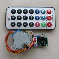 4 Phase 5 Wire Stepper Motor Driver Board Remote Control RC Adjustable Speed