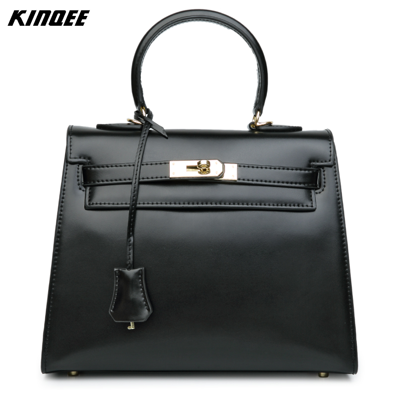 Luxury Handbags Women Bags Designer Famous Brands Purses and Handbags Genuine Leather Solid Cow Leather Shoulder&Crossbody Bags