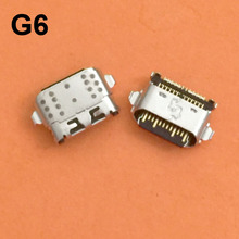 20 PCS Micro Usb poort Opladen Connector Socket Plug voor Motorola Moto G6/G6 plus/G6 Spelen