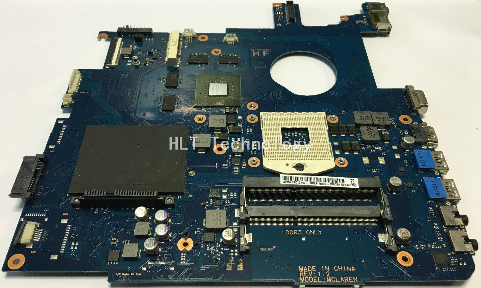 HOLYTIME For <font><b>samsung</b></font> <font><b>NP550P5C</b></font> NP550 laptop <font><b>Motherboard</b></font> BA92-09094A HM65 GT650M Non- integrated graphics card 100% fully tested image