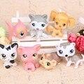 7 unids/set LPS littlest pet shop adornos decorativos niños juguetes adornos de Muñecas de vinilo muñeca 5 cm juguetes de los niños para el regalo