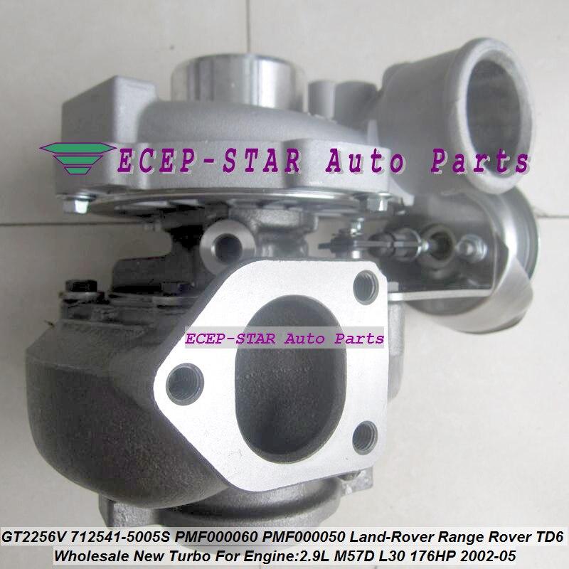 Бесплатная доставка турбо GT2256V 712541 712541-5006S 712541-0003 LR006110 PMF000050 для Land-Rover Range Rover TD6 M57D L30 LL 2.9L TDI