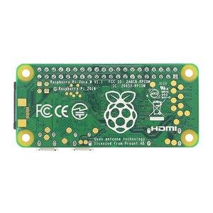 Image 3 - Raspberry Pi Zero W / WH предварительно сварочная пайка, 40 контактный GPIO Header, 512 М ОЗУ, встроенный Wi Fi и Bluetooth Raspberry Pi Zero Pi 0