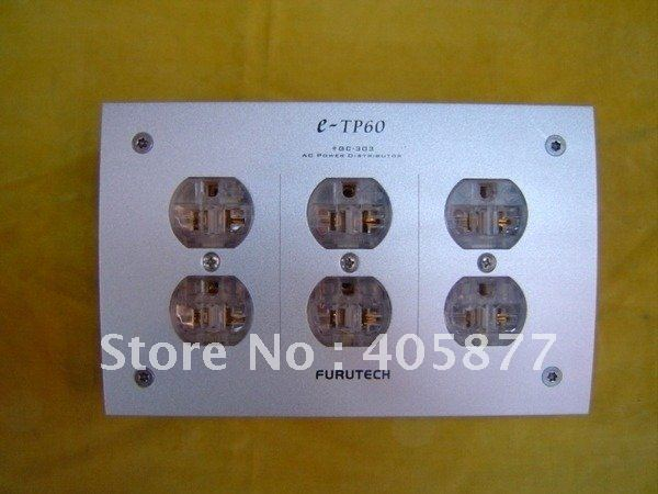 audio E-TP60 HIFI Power conditioner AC Power Distributor 100% Brand NEW nobsound hi end audio noise power filter ac line conditioner power purifier universal sockets full aluminum chassis