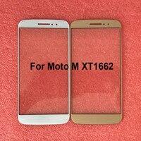 Moto M için MotoM XT1662 Dokunmatik Panel Ekran Digitizer Cam Sensörü Dokunmatik Panel Olmadan Flex