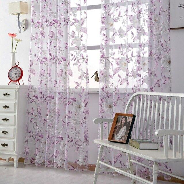 Tulle casa tende brevi tende moderne tende trattamento finestra ...