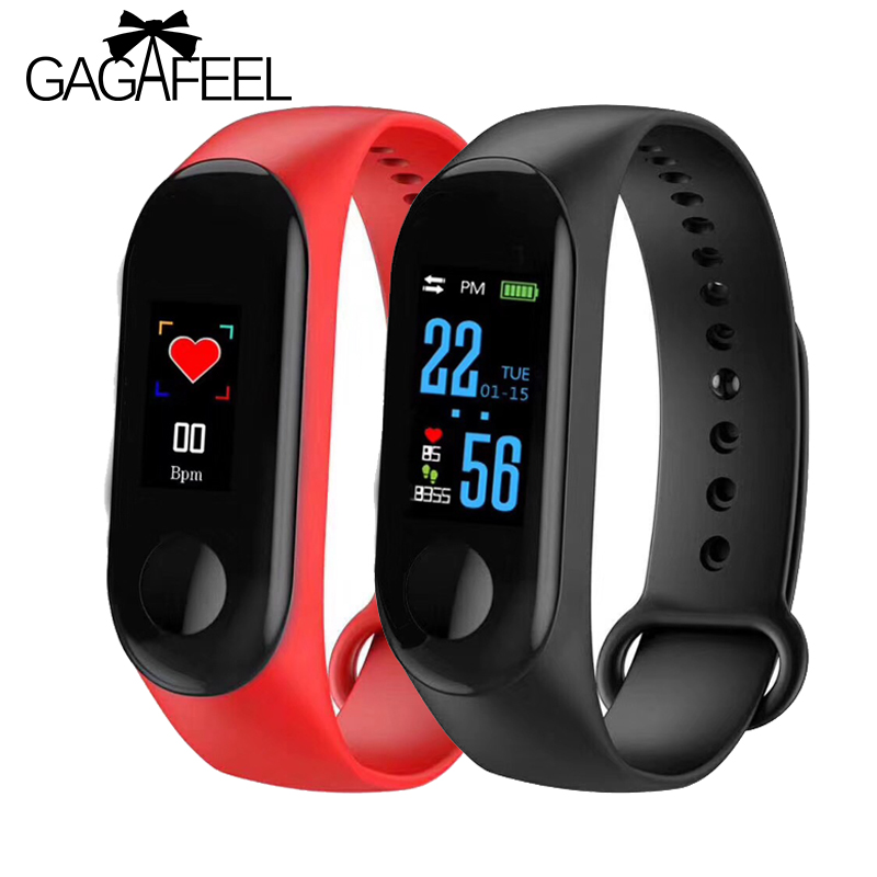 Men's Watches Fashion Style Bluetooth Sport Smart Bracelet Women Men Children Digital Watch Waterproof Clock Heart Rate Blood Pressure For Android Ios Watches
