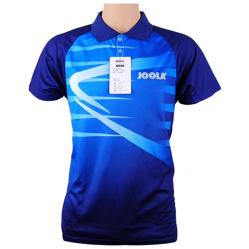Original Joola Table Tennis Clothes For Men And Women Clothing T-shirt Short Sleeved Shirt Ping Pong Jersey Sport Jerseys