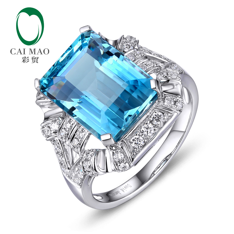 Free Shipping 7.8ct Oval Shape Topaz and Natural Diamonds 14K White Gold Engagement Ring меловая доска набор цветных мелков melompo mel 8