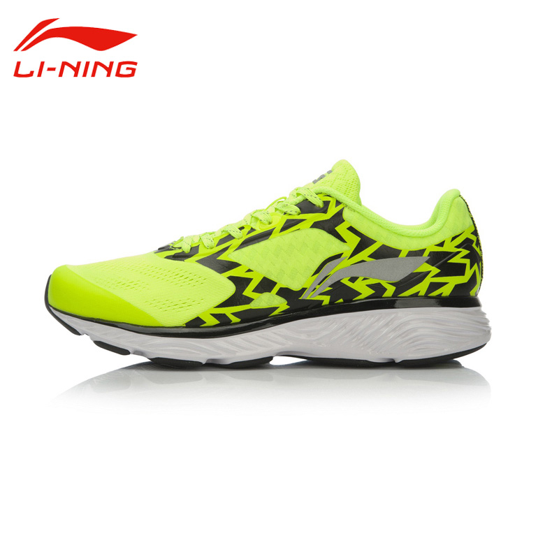 Li-Ning Men's Outdoor Breathable Chip Smart Cushioning Light Running Shoes Li Ning Non-Slip Sports Sneakers ARHL037