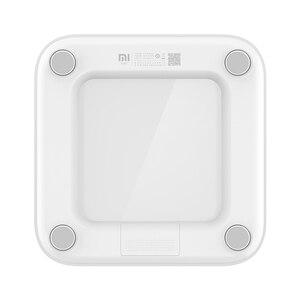 Image 2 - Báscula Original Xiaomi Mi, báscula inteligente 2 con Bluetooth 5,0, balanza de peso precisa, pantalla LED, báscula para Fitness, Control con aplicación MiFit