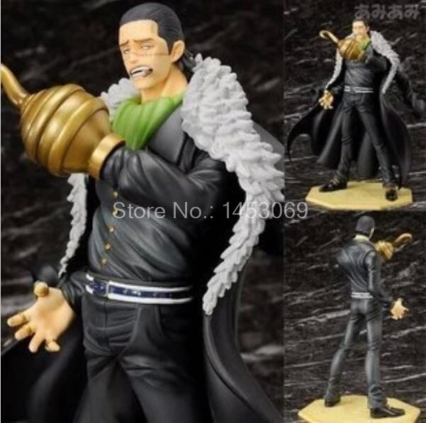 Anime One Piece P.O.PDX Sir Crocodile PVC Action Figure Collectible Model Toy 26cm bender community and social change in america
