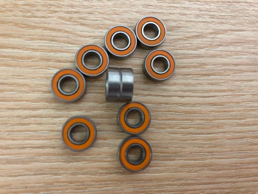 6x15x5 mm S696-2RS ABEC-7 2 PCS 440c CERAMIC Stainless Steel Bearing